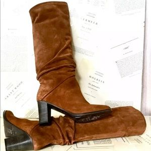 Jeffrey Campbell Tall Boot rust-brown Suede 38